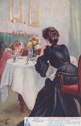 Punch Magazine Grace Before Meals Old Juvenile Jokes 9192 Antique Comic Postcard - Bandes Dessinées