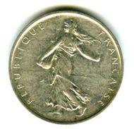 5 Francs  SEMEUSE 1968 Cinqième République En Argent - J. 5 Francs