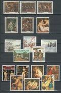 Paraguay: 51 Timbres Divers (peintures) ** - Paraguay