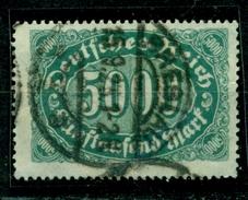 Deutsches Reich. Ziffern Im Queroval, Nr. 256 C, Gestempelt, Geprüft Infla - Used Stamps