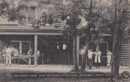 Metigoshe Lodge Lake State Park Africa Dakota Bottineau Antique Postcard - Postcards