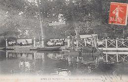"""JOUY Le MOUTIER ( 95 ) - Restaurant Du Goujon De L""""Oise - Jouy Le Moutier"""