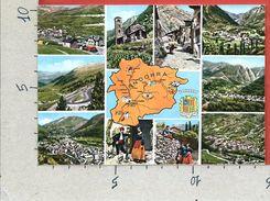 CARTOLINA NV ANDORRA - VALLS D'ANDORRA - Multivue - Vedutine - 10 X 15 - Andorra