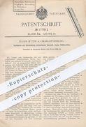 Original Patent - Eugen Jetter In Berlin / Charlottenburg , 1905 , Rostsichere Stäbe Für Korsett | Korsettstäbe , Mode ! - Historical Documents
