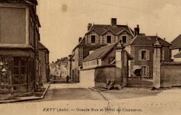 A 9706  - Ervy Le Chatel (10) Grande Rue Et Hotel Du Commerce - Ervy-le-Chatel