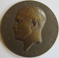 M02028  LOUIS BEGAULT PRISONNIER POLITIQUE  MORT A DORA - 1891 - 1945  (80g) A Lieutt-Colonel.... Au Verso - Professionals / Firms