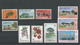 Anguilla:1 Petit Lot De 10 Timbres Divers ** - Anguilla (1968-...)