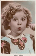 Shirley Temple As A Child Vintage Postcard - Actors