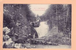 Cpa Cartes Postales Ancienne - Cauterets Cascade Du Cerisey 24 - Cauterets