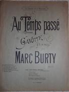 Au Temps Passé - Gavotte Pour Piano - Marc Burty - Classical