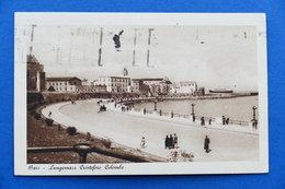 Cartolina - Bari - Lungomare Cristoforo Colombo - 1922 - Bari