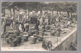 AMIENS . Le Marché Sur L'Eau . - Amiens