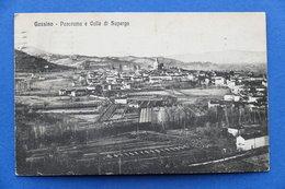 Cartolina - Gassino - Panorama E Colle Di Superga - 1926 - Italia
