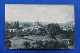 Cartolina - Gassino - Panorama - 1918 - Italia
