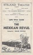 Kyrle Bellew Lupe Rivas Cacho The Mexican Revue Strand Theatre Antique Programme - Autographs