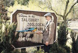 Macaw Parrott At Salisbury Zoo Zoological Park Maryland Photo Postcard - Animaux & Faune