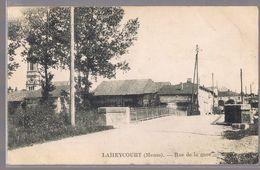 LAHEYCOURT . Rue De La Gare . - Frankreich