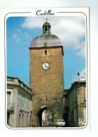 17925  CPM  CADILLAC     : La  Tour De L' Horloge  , Datée Crayon  1991   ACHAT DIRECT !! - Cadillac