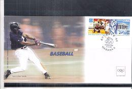 Sports - Base-Ball - Enveloppe Officiel Du CIO - Cuba - (à Voir) - Base-Ball