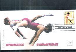 Sports - Gymnastique - Enveloppe Officiel Du CIO - USA - (à Voir) - Gymnastik