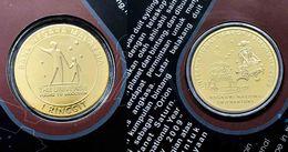 Malaysia 2009 1 Ringgit International Year Of Astronomy Commemorative Nordic Gold Coin BU - Malaysia