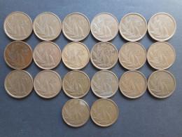 Belgium 20 Francs 1980-1996 (Lot Of 24 Coins) - 1951-1993: Baudouin I