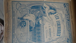 Partition Ancienne GF IllustrateurTarace Art Nouveau Les écrevisses Piano Desormes - Partituras