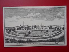 Waremme :Vue De La Ville En 1735 (W1139) - Waremme