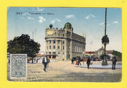 Litho POSTCARD  TCV STAMP AUSTRIA WIEN VIENNA Street Scene 1906/10 - Postcards
