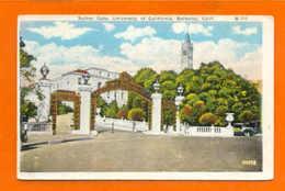 Postcard USA CALIFORNIA BERKELEY UNIVERSITY SATHER GATE 1910years - Schools