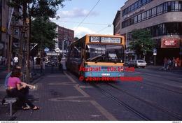 Reproduction Photographie D'un Bus MAN Ligne 368 Her-Wanne à Bochum En Allemagne En 1993 - Repro's
