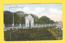 ANTIQUE PC POSTCARD PERU LIMA 1910years SOUTH AMERICA - Postcards