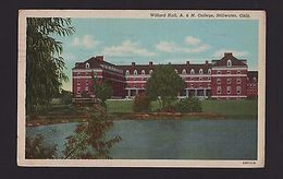 WILLARD HALL A & M COLLEGE STILLWATER OKLAHOMA USA1940/50years Z1 - Etats-Unis