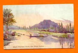 ART POSTCARD INDIA HARI PARBAT FROM THE DHAL LAKE 1910s - Postcards