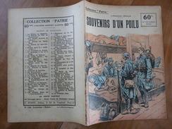 """Ca2 - Guerre 14-18 -Collection Patrie N° 134 De 1919 - J.F.Oswald """"Souvenirs D'un Poilu"""" - Historical Documents"""