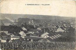 - Depts Div.-ref-TT412- Marne - Cumieres - Vue Generale - - Other Municipalities