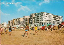Grote Kaart Grand Format Sint-Idesbald Strand En Zeedijk 1979 St-Idesbald Koksijde - Koksijde