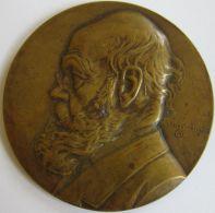 M05238  FERDINANDO VANDERHAEGHEN - BIBLIOTHECAE ACADEMICAE GANDAVENSIS  - 1869- 1911 - Son Buste  (68g) - Professionals / Firms