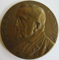 M05240  JOSEPH POSSOZ - INSTITUTIONS CHARITALES DE HAL - 1883-1933 - Son Buste  (146g) - Professionals / Firms
