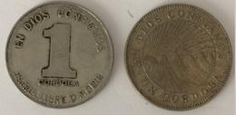 Nicaragua- 1 Cordoba 1972 - 1 Cordoba 1984 - Nicaragua
