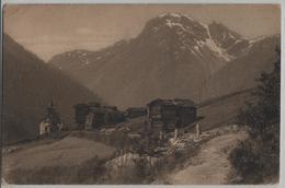 Grimentz - Dorfpartie - Photo: Jullien Freres No. 7703 - VS Valais