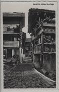 Grimentz - Interieur Du Village, Animee - Photo: Perrochet No. 8696 - VS Valais