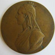 M05254  MARIE HENRIETTE - SOCIETE HOLLANDO-BELGE  - 1902 - Son Buste (76g)  Allégorie Au Revers - Royal / Of Nobility