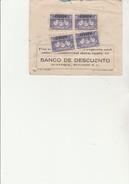 EQUATEUR - LETTRE AFFRANCHIE -  POSTE AERIENNE  N° 42 - 4 EXEMPLAIRES   ANNEE 1936 - Equateur