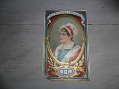 Etiket  étiquette   Fil Au Coeur Français - Publicité