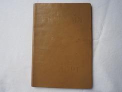 Passeport Service BULGARIE 1983 USSR  Visas    Passeport Reisepass Pasaporte Border Stamp   A 143 - Historical Documents