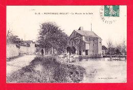 F-49-Montreuil Bellay-12Ph96  Le Moulin De La Salle, Cpa BE - Montreuil Bellay