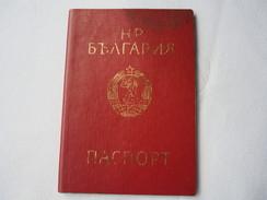 Passeport BULGARIE 1980 Visa DDR-Romanie  - Germany -Austria  Passeport Reisepass Pasaporte Border Stamp   A 144 - Historical Documents