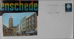 Netherlands, 1969 Special Postmark On The Marathon At Enschede - Atletiek