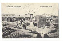 17497 - Ostseebad Swinemünde Kinderlust Am Strande - Pommern